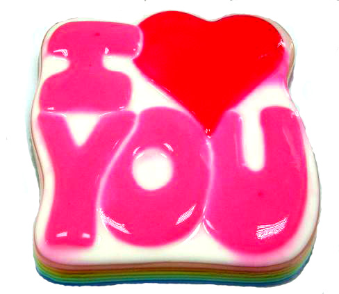 jelly cake i love you picture